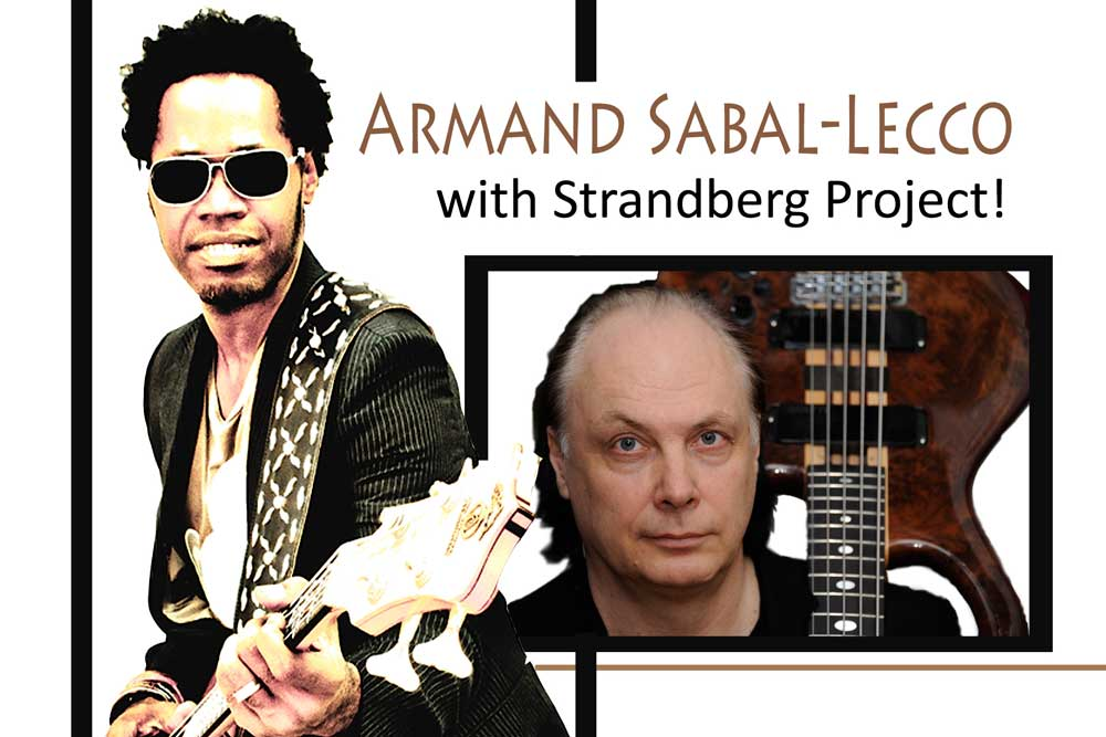 Armand Sabal-Lecco together with Strandberg Project in April 2014!